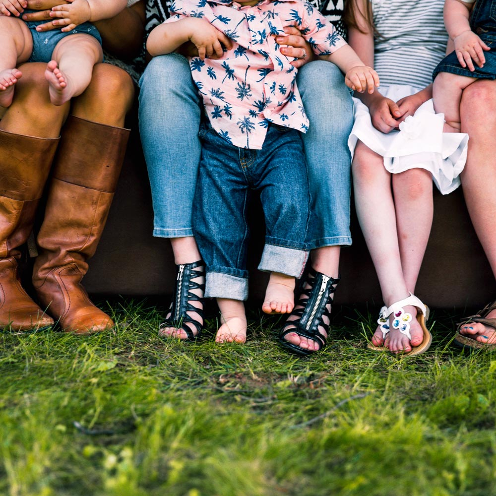 Große und kleine Familien